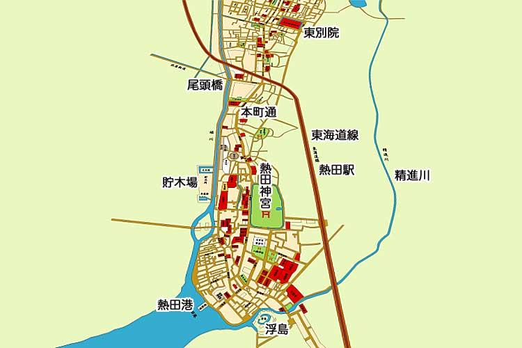 明治20年(1887)頃の地図<br>[1/20]