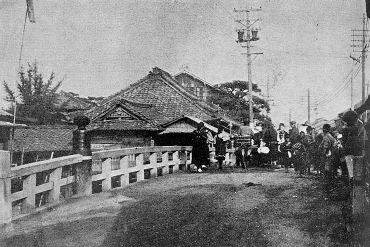 裁断橋と姥堂<br>熱田区伝馬25[3/20]