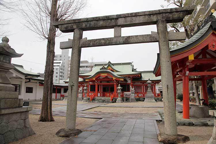 古渡稲荷神社(2012年撮影)<br>中区正木1-15[2/22]