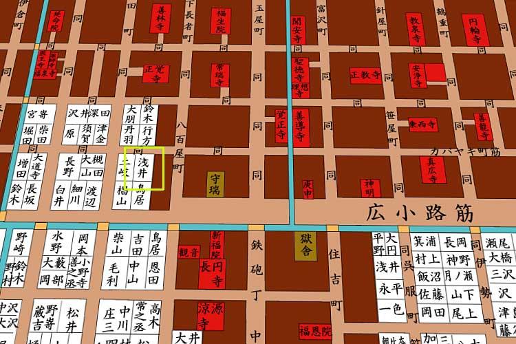 医学館浅井家付近<br>[18/21]