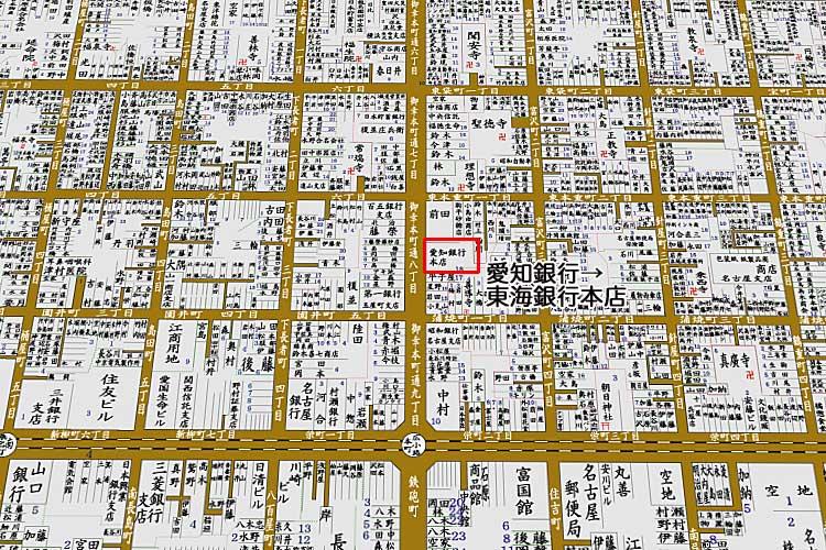 昭和8年頃の<br>住宅地図近[20/21]