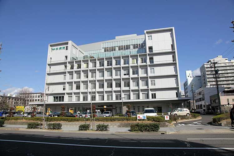 中日病院<br>新愛知新聞社跡(2012年撮影)[10/22]