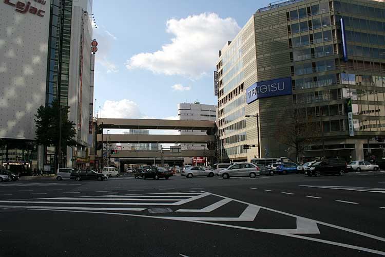 笹島交差点西-名古屋停車場あたり<br />(2010年撮影)[1/24]