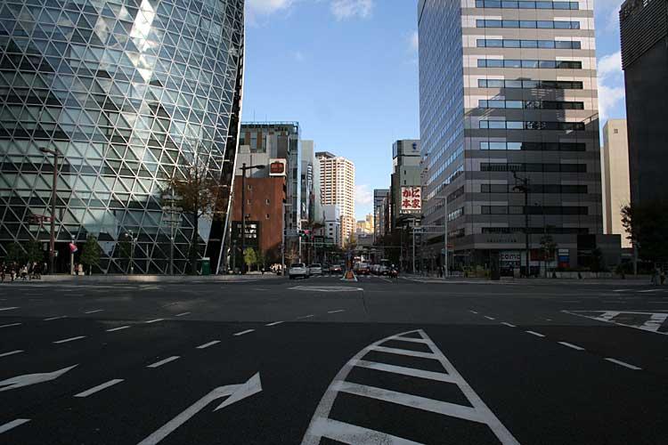 笹島交差点東栄方向<br />(2010年撮影) [2/24]