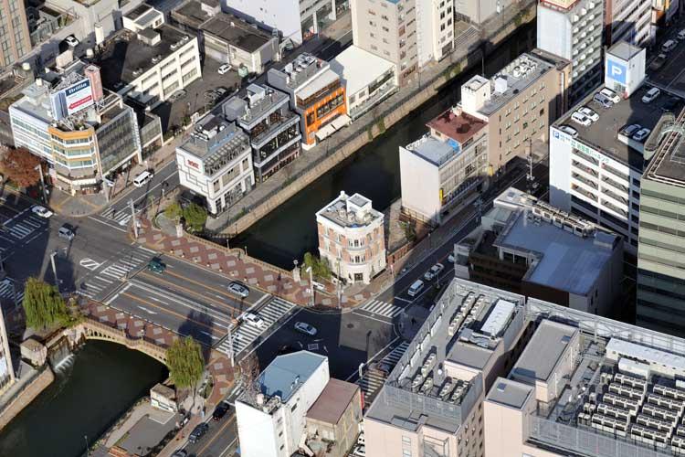 納屋橋上空-名古屋市広報課<br />(2008年撮影)[4/24]