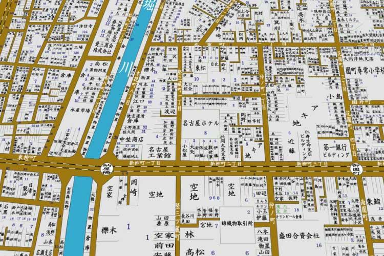 昭和初頭の地図<br>[12/23]