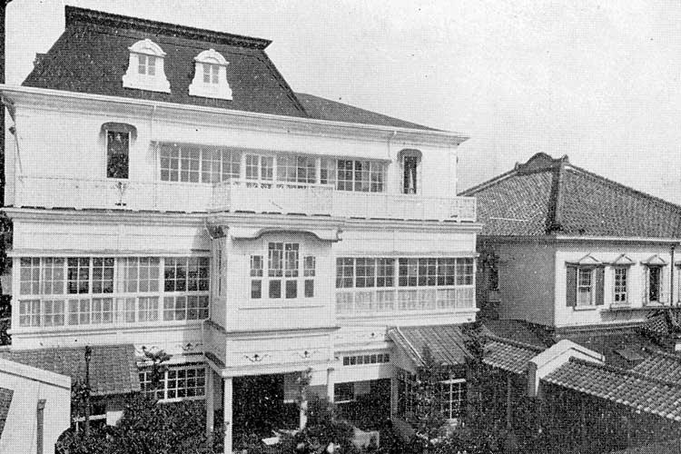 広小路名古屋ホテル<br>明治28年(1895)開業[14/23]