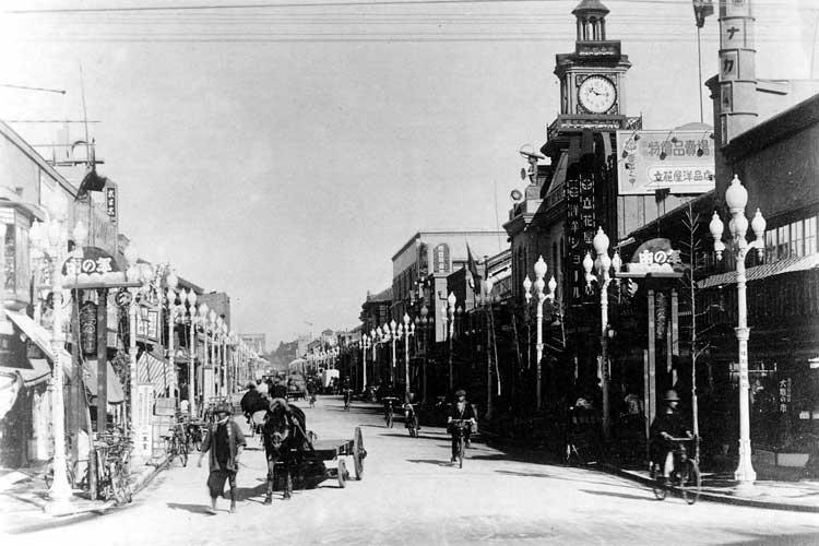 御幸本町となった本町通<br>昭和3年(1928)[18/23]