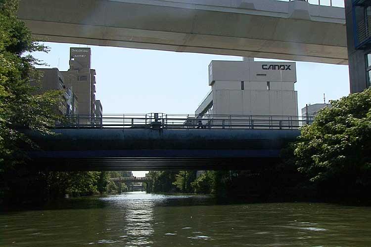 景雲橋と名古屋高速都心環状線<br>[8/22]