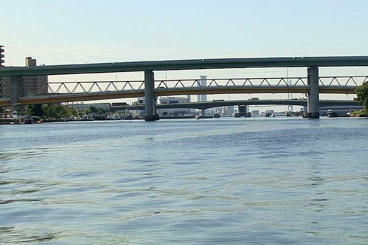 名古屋高速4号東海線<br>きらく橋[7/22]