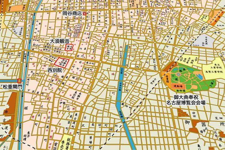 昭和時代初頭の地図<br>[1/24]