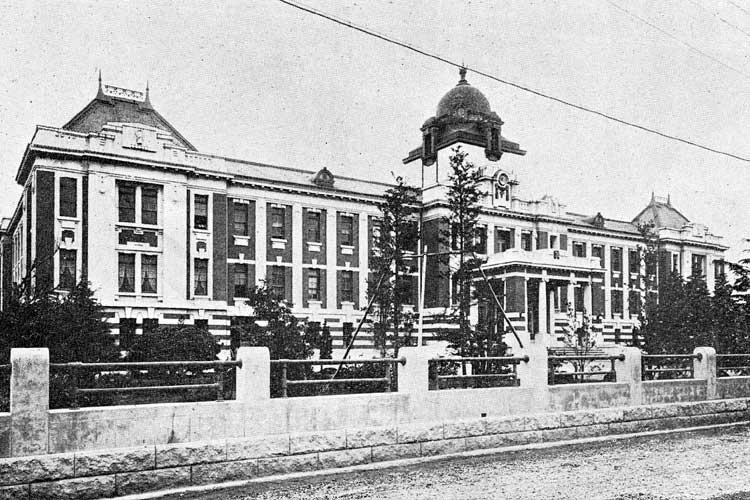 名古屋裁判所<br>大正11年(1922)移転新築[3/18]