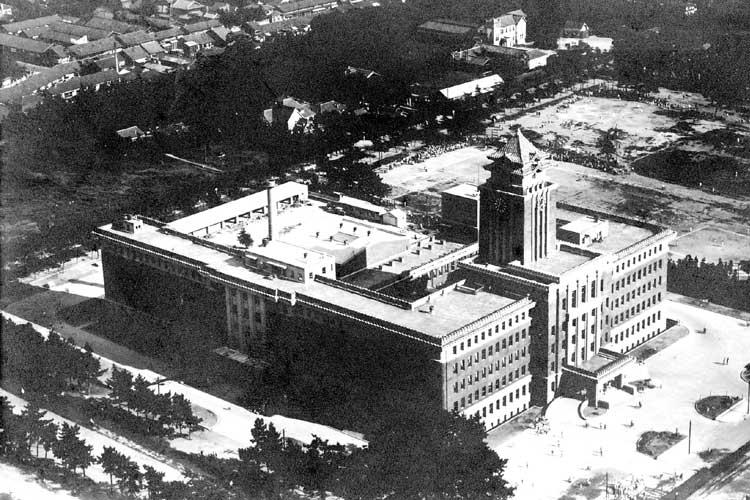 名古屋市役所<br>昭和8年(1933)移転新築[6/20]