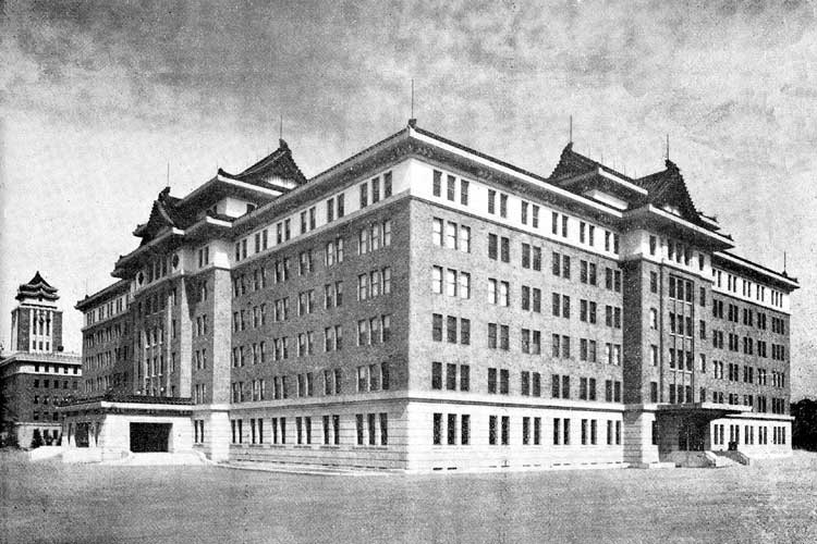 愛知県庁-昭和13年(1938)<br>移転新築[8/20]