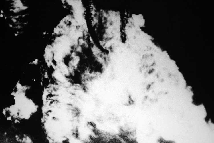 名古屋城空襲で炎上<br>昭和20年5月14日[13/20]