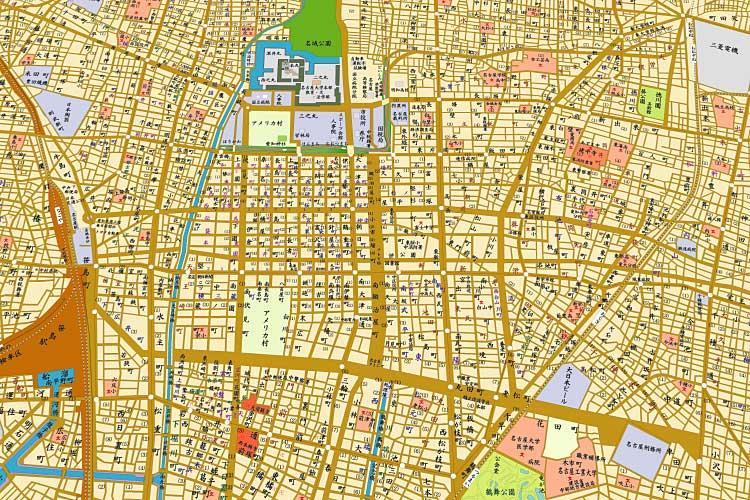 昭和33年(1958)の<br>名古屋地図[16/20]