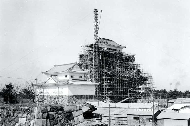 明治10年(1877)頃の<br>名古屋城周辺[18/20]