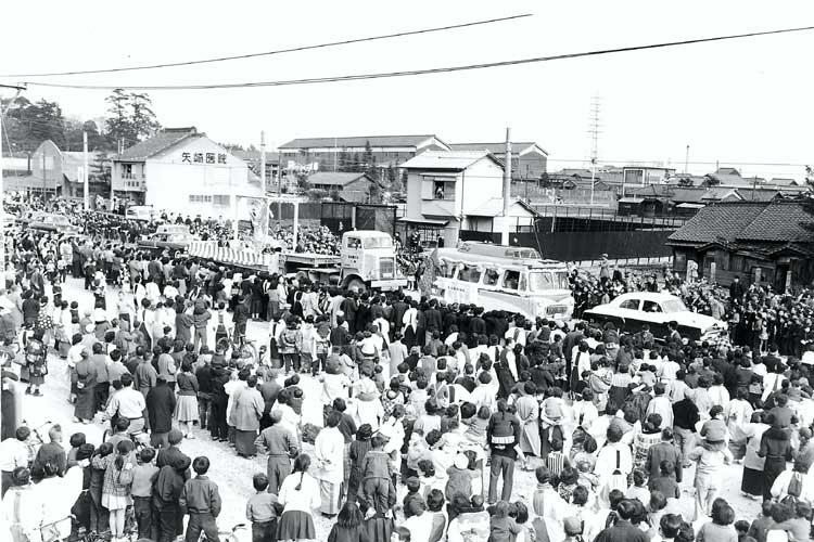 金鯱のパレード<br>昭和34年(1959)[19/20]