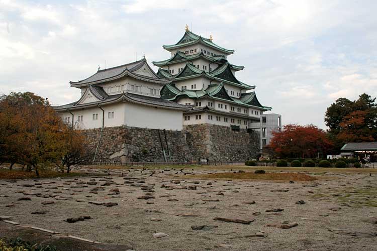 名古屋城と本丸御殿礎石<br>(2009年) [20/20]