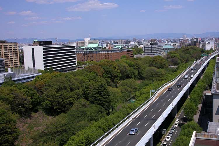 名古屋高速道路都心環状線と<br>三之丸官庁街[2/21]