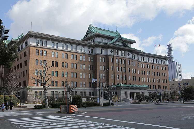 愛知県庁<br>昭和13年(1938)完成[5/21]