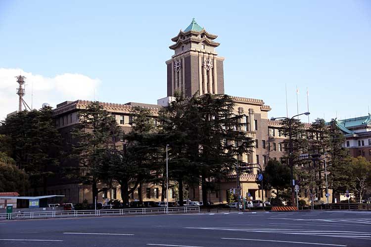 名古屋市役所<br>昭和8年(1933)完成[6/21]