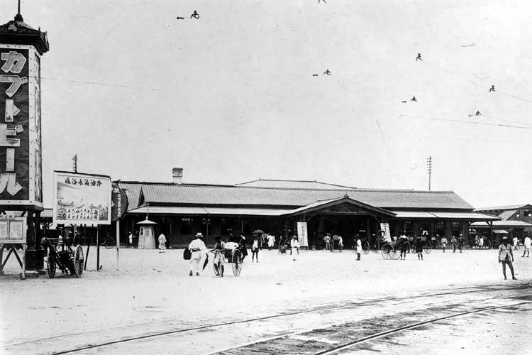 大正時代(1912-1926)<br>初期の名古屋駅前[7/19]