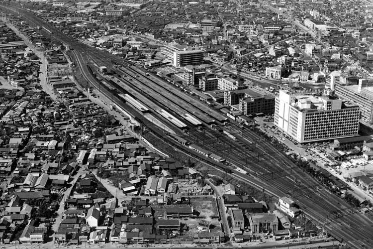 昭和34年頃の<br>名古屋駅周辺(1959[20/22]