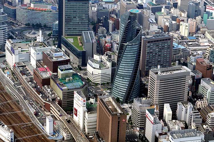 名古屋駅周辺航空写真(2008年撮影-名古屋市広報課)[10/24]