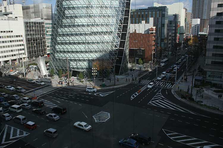 笹島交差点と広小路(2010年撮影)[13/24]