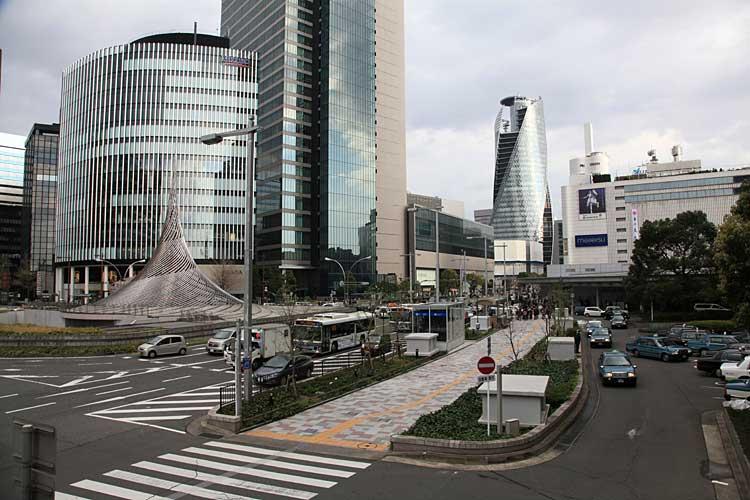 名古屋駅前ロータリー(2012年撮影)[16/24]