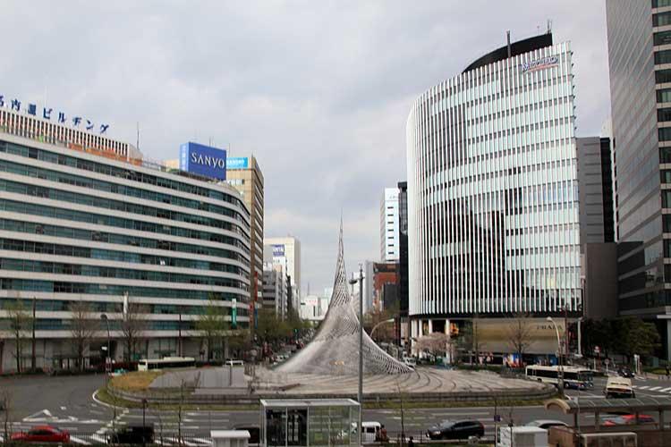 名古屋駅前ロータリー(2012年撮影)[17/24]