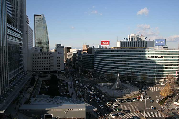名古屋駅前ロータリー(2012年撮影)[18/24]