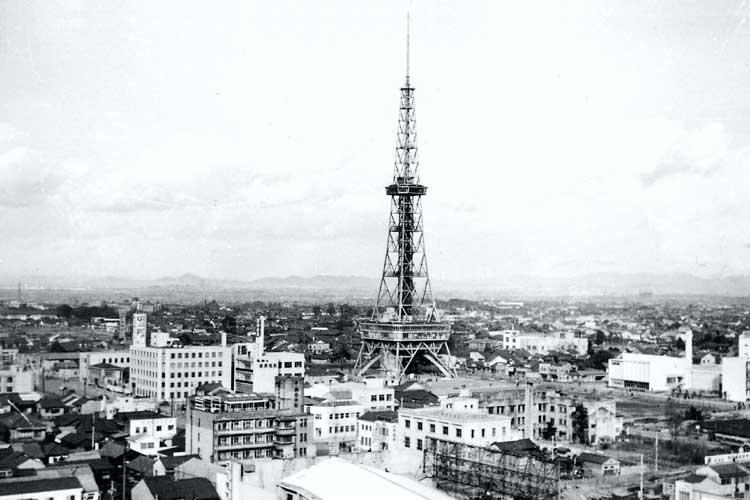 昭和29年(1954)に完成した<br />名古屋テレビ塔[18/24]