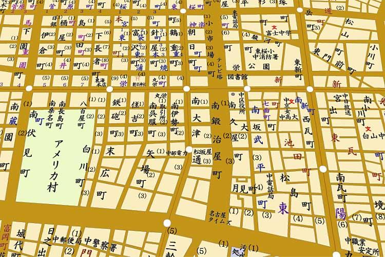 昭和33年(1958)頃の地図<br />[20/24]